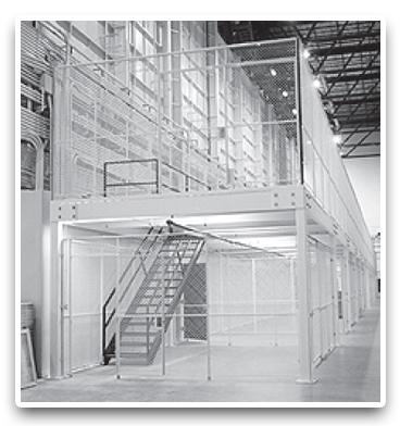 Warehouse mezzanine modular office Info Abtech Custom Modular Steel Mezzanines